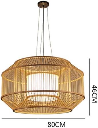 Escalera de luz Comedor danés Bar Ropa Tienda Luces LED Tejido a mano Lámparas colgantes Sala de estar: Amazon.es: Iluminación