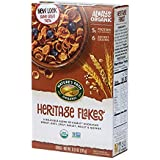 Nature's Path Heritage Flakes Cereal, Healthy, Organic & Full of Protein and Fiber, 13.25 Ounce Box (Pack of 6)