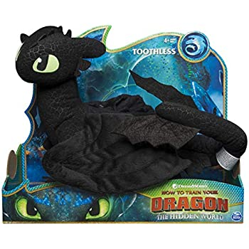 Amazon com: Toothless Night Fury 1 Train 2 Stuffed Animal Plush Doll