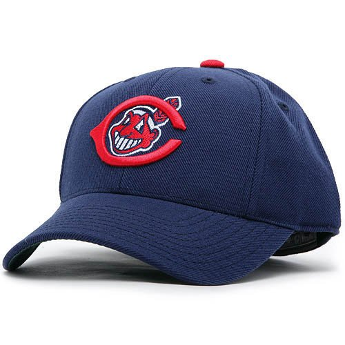 Cleveland Indians Cooperstown Fitted Hat - 1