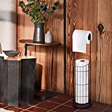 Toilet Paper Holder, Extra Larger Free Standing