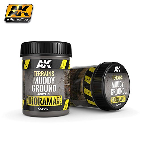 AKI Diorama Effects - Muddy Ground Terrain 250ml - 250 Effect