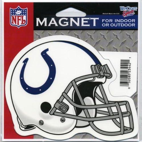 Amazon Com Indianapolis Colts Helmet Indoor Outdoor Magnet Home Kitchen