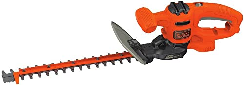 BLACK DECKER Hedge Trimmer, Dual-Action Blade, 16-Inch BEHTS125