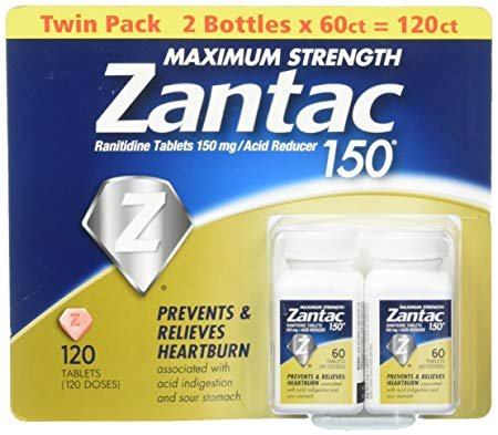 Zantac 150 Maximum Strength Tablets, Original 120 Count for sale  Delivered anywhere in USA