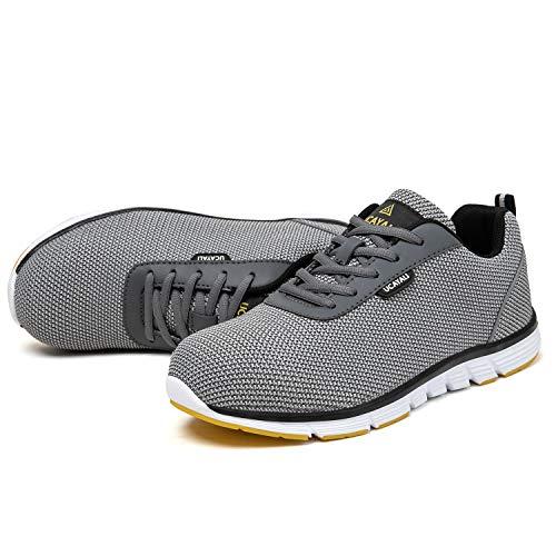 UCAYALI Zapatos Seguridad Negra 42 Calzado de Trabajo Gris Talla Gris 43