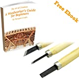 3 Pack Wood Carving Tools Linoleum Cutter Set with Sturdy Wood Handle. A Must Have Professional Quality Assorted...