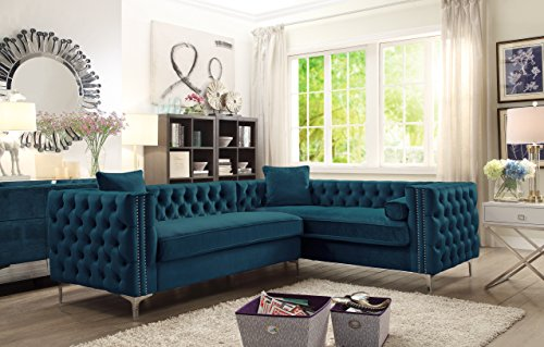 Iconic Home Fsa2589 Nailhead Sectional Benefits