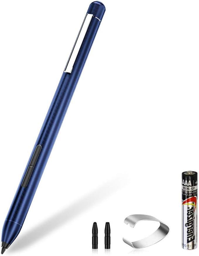 Digital Pen Active Stylus for HP Spectre x360 13-AC023DX, X2 12-C012DX, 13-AC013DX, 13-AC033DX, 15-BL012DX, 15-BL112DX, HP Envy 360 15M-BP012DX, HP Pavilion X360 11M-AD013, 14M-BA013DX (Blue)