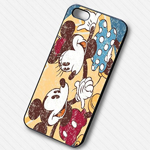 Cute Couple Mickey Minnie Mouse pour Coque Iphone 6 et Coque Iphone 6s Case X8C1NV