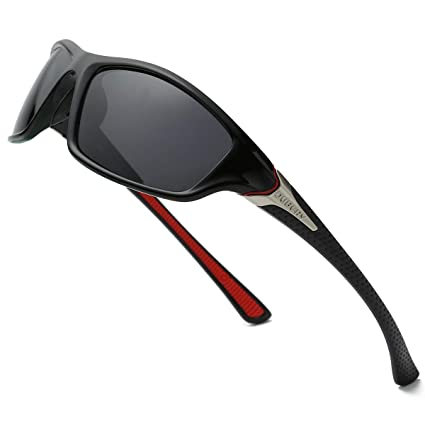 ab81752e23 DUBERY Polarized Fishing Sunglasses for Men Women Ultra Light Outdoor  Sports Driving Sunglasses UV400 Protection D120