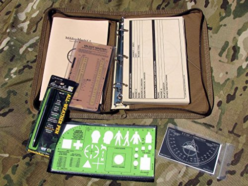 Impact Data Books, Inc All-in-One Sniper Kit - Coyote Brown - Black - Standard - Yards from Impact Data Books, Inc