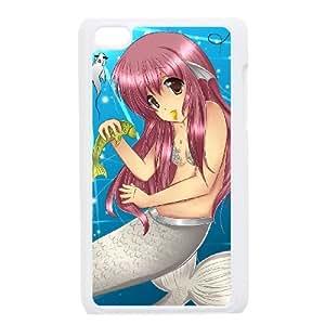 Anime Mermaid iPod Touch 4 Case White R3356129