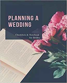 amazon planning a wedding checklists notebook for brides