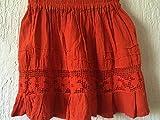 Mexican Orange Skirt for baby girl