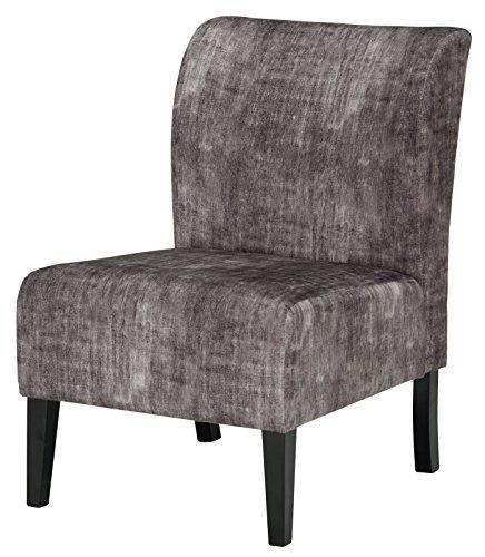 Cheap  Signature Design by Ashley A3000064 Triptis Accent Chair, Triptis Charcoal Gray