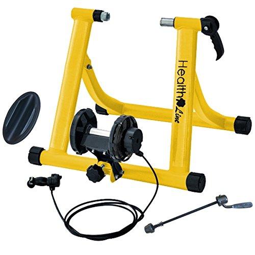 7 Levels Resistance Indoor Magnetic Bike Trainer Bicycle ...