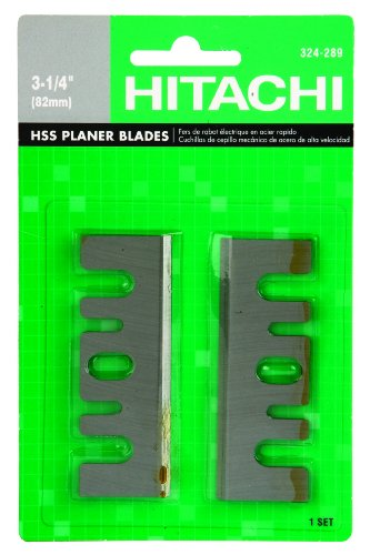 Hitachi 324289 3-1/4-Inch High Speed Steel Planer Blade for the Hitachi P20SBK Planer, 1-Pair