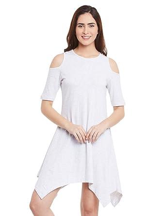 Miss Chase Women's Cotton a line Dress Dresses   Jumpsuits