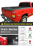 Premium TriFold Tonneau Truck Bed Cover For 88-07 Chevy/GMC Silverado/Sierra (Classic) 6.5 feet (78 inch) Trifold Truck Cargo Bed Tonno Cover (NOT For Stepside)