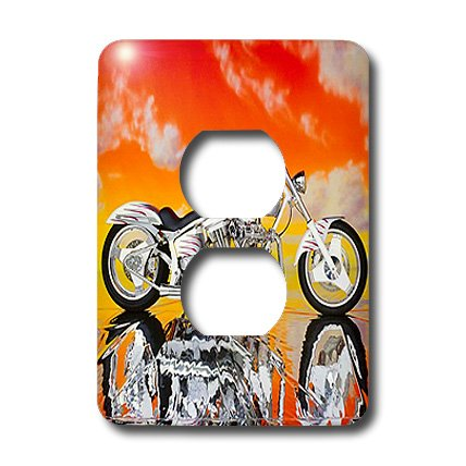 3dRose LLC lsp_4489_6 Light Switch Cover Picturing Harley-Davidson174