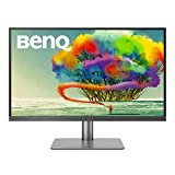BenQ PD2720U DesignVue 27 inch 4K HDR IPS Monitor | Thunderbolt 3 for fast Connectivty |AQCOLOR Technology for Accurate Reproduction for Professionals