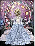 Illuminations Coloring Book: Gorgeous Ladies Dragons  Lanterns Fantasy Coloring Book