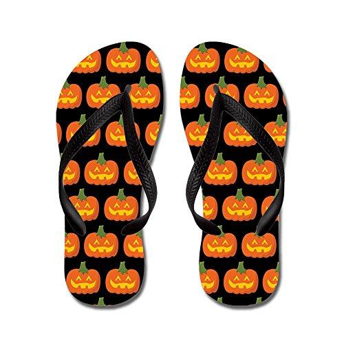 CafePress Halloween - Flip Flops, Funny Thong Sandals, Beach Sandals Black