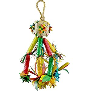 Planet Pleasures Firecracker Piñata Bird Toy, Small 32