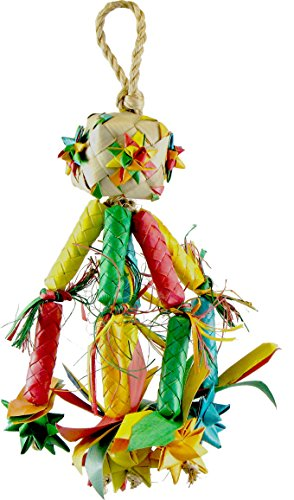 Planet Pleasures Firecracker Piñata Bird Toy, Small