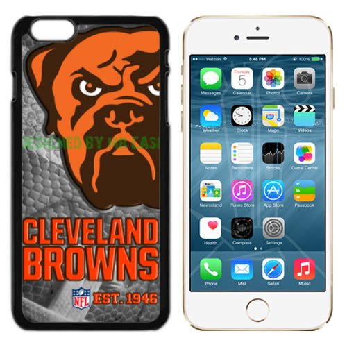 Browns Cleveland Football New Black Apple iPhone 6S, 6 Case By Mr Case