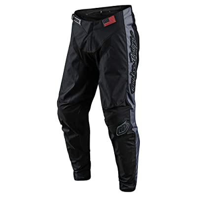 Troy Lee Designs Mens | Offroad | Motocross | GP Liberty Pants (28, Black/Gray): Automotive