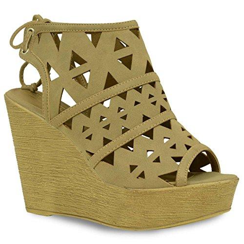 Cucu Fashion - Zapatos de tacón  mujer Marrón - gris
