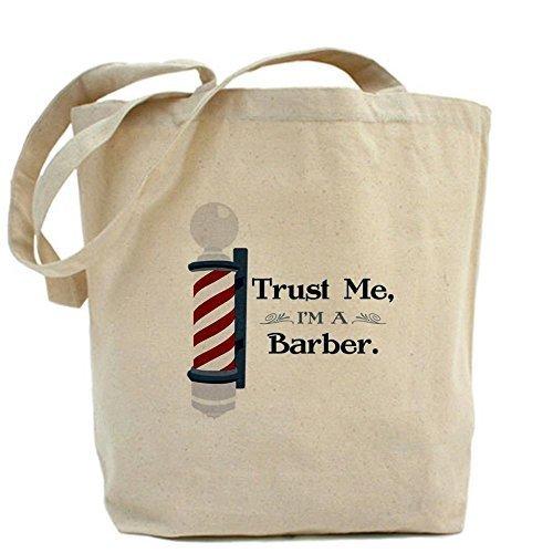 CafePress Trust me im un barbiere Tote Bag–Standard Multi-color da CafePress