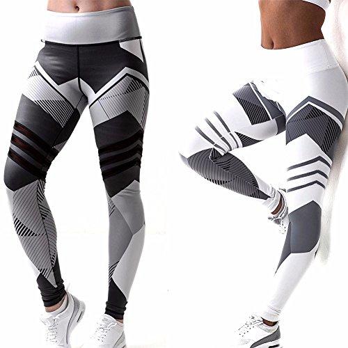 Fittoo Hot Sale Yoga Pants Sport Pants Workout Leggings Sexy High Waist Trousers - Black Arrow (L)