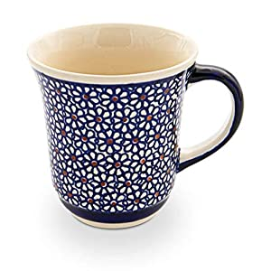 Bunzlauer Ceramic Mug Diameter 12.2 cm Height 10.3 cm Volume 0.3 Litres Design 120