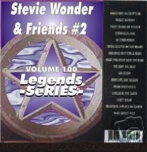 Stevie Wonder & Others 15 Song Karaoke CD+G Legends #100