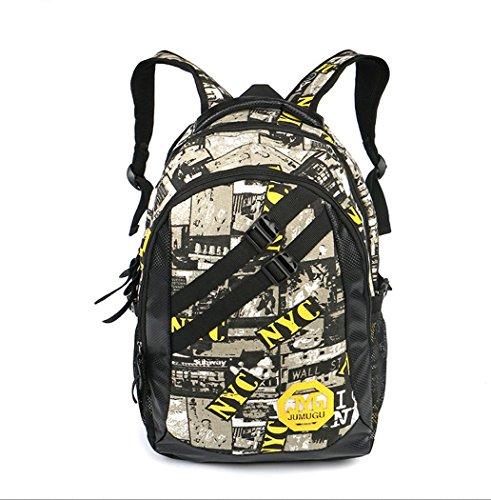 BUSL Al aire libre Mochila de senderismo montañismo montar mochila bolsa de los hombres . yellow . high 48 x 28 x x 15 Yellow