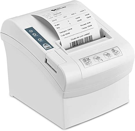 Amazon.com: LOSRECAL Thermal Receipt Printer of 300mm/s High ...