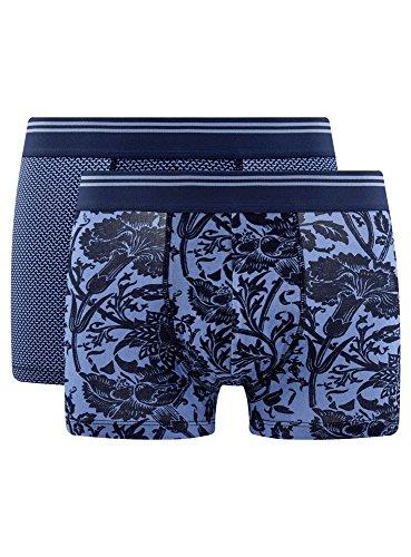 Calzoncillos Oodji De Ultra pack 2 7579o Azul Bóxer Hombre HqwFOzZxqE