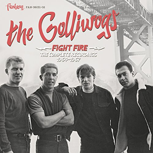 CD : Golliwogs - Fight Fire: The Complete Recordings 1964-1967 (CD)