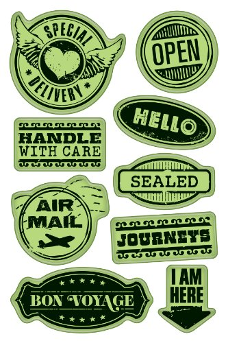 Stamps Rubber Inkadinkaclings - Inkadinkaclings Rubber Stamps That Cling, Delivery Labels