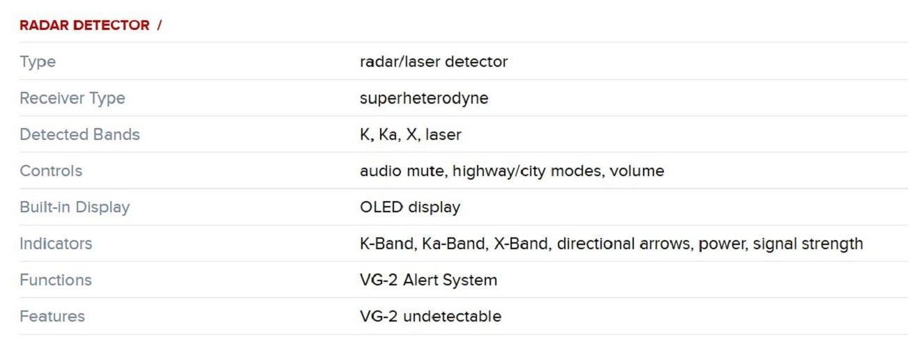 Black Escort 0100034-1 Solo S4 Radar Detector