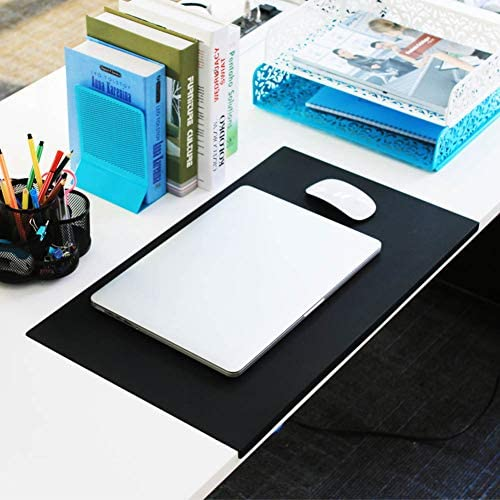 Thick TPU Mouse Pad,Waterproof Anti-fray Gaming Mouse Mat with Wrist Protection Oversized Extended Desktop Protector for Laptop Computer Pc-a 75x45cm 30x18inch
