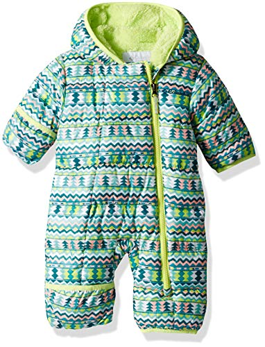 (Columbia Unisex Baby Infant Frosty Freeze Bunting, Tippet Zigzag Print, 0/3)