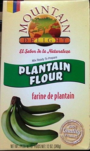 Mountain Delight Plantain Flour - 12 Oz