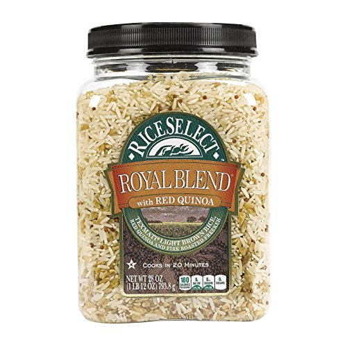 RiceSelect Royal Blend with Red Quinoa,28 oz ,Pack of 4