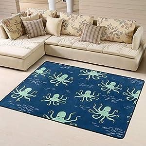 51TE-T5kZdL._SS300_ Best Octopus Area Rugs