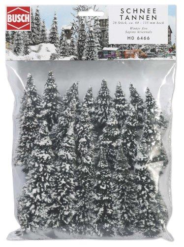 Busch 6466 - 20 Schneetannen HO