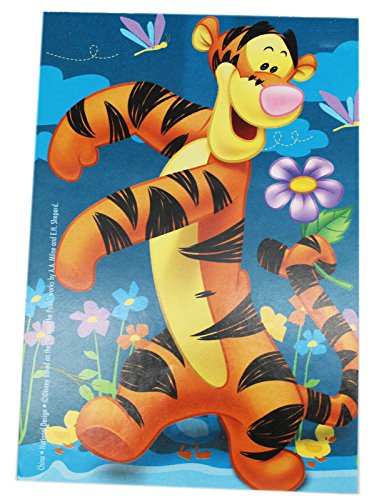 Blue Winnie the Pooh Tigger Notepad - Pooh Notepad